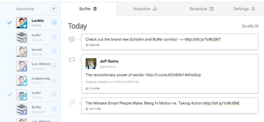 Buffer-Social-Media-Management-Tool
