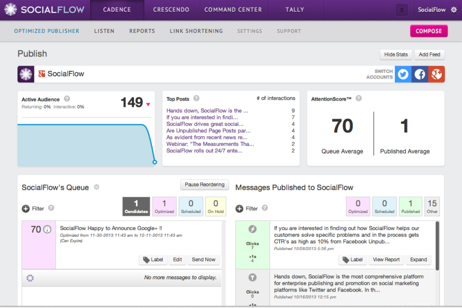 SocialFlow-Media-Management-Tool