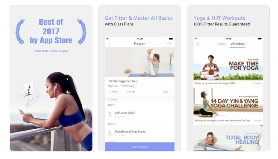Daily Yoga - Yoga Fitness Plans | santosomartin.com