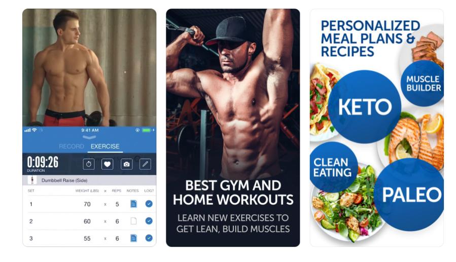 Fitness Buddy App | santosomartin.com