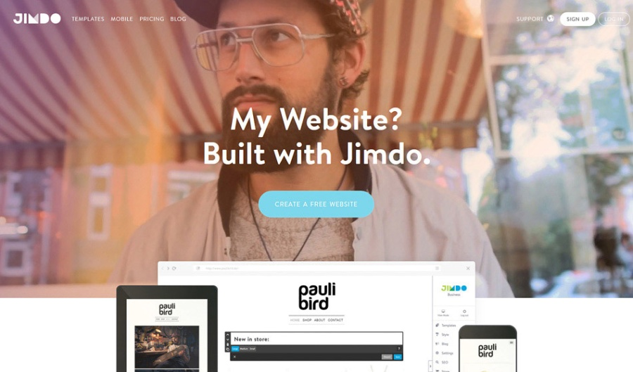 Jimdo Web Builder | santosomartin.com