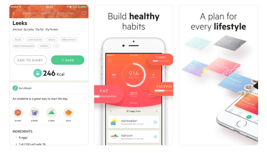 LifeSum Weight Loss App | santosomartin.com