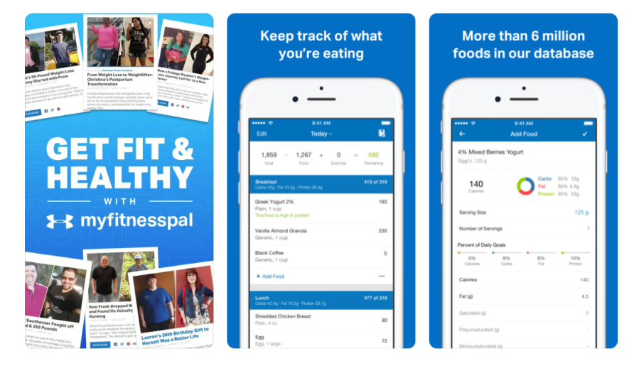 MyFitnessPal App | santosomartin.com
