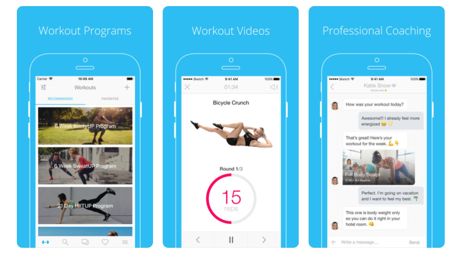 PumpUp Workout Community App | santosomartin.com