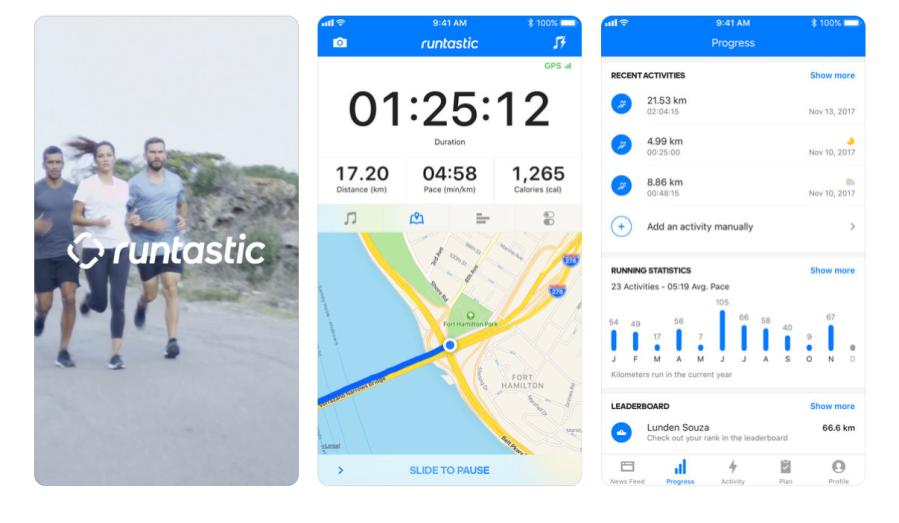 Runtastic Running Tracker | santosomartin.com