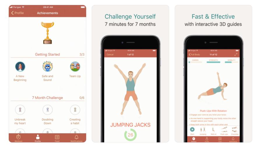 Seven Workout App | santosomartin.com