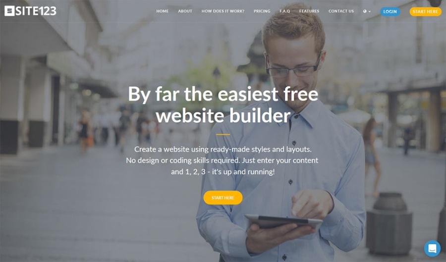 SITE123 Web Builder | santosomartin.com