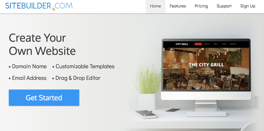 SiteBuilder Web Builder | santosomartin.com