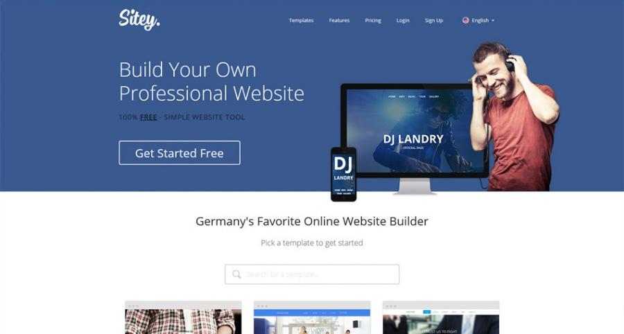 Sitey Web Builder | santosomartin.com