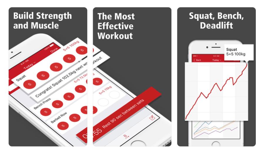 Stronglift 5x5 Fitness App | santosomartin.com