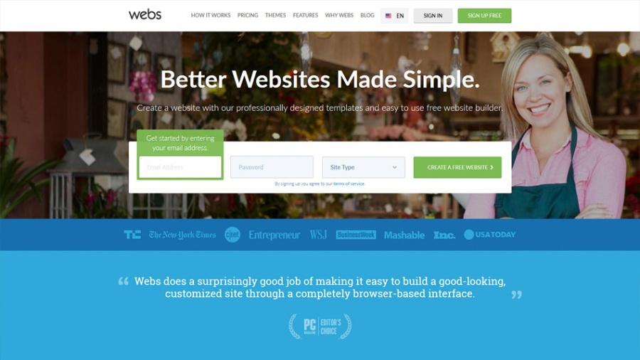 Webs Web Builder | santosomartin.com